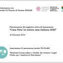 Le informazioni per il progetto di stage 2020